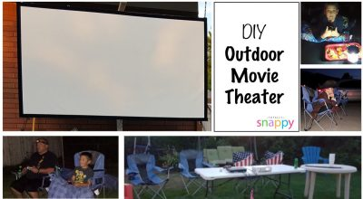 DIY: Outdoor Movie Theater