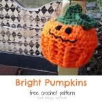 Free Pattern: Solar Pumpkins