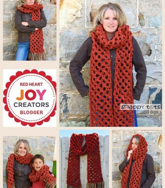 Free Pattern: A Sweet Super Scarf You Will Love