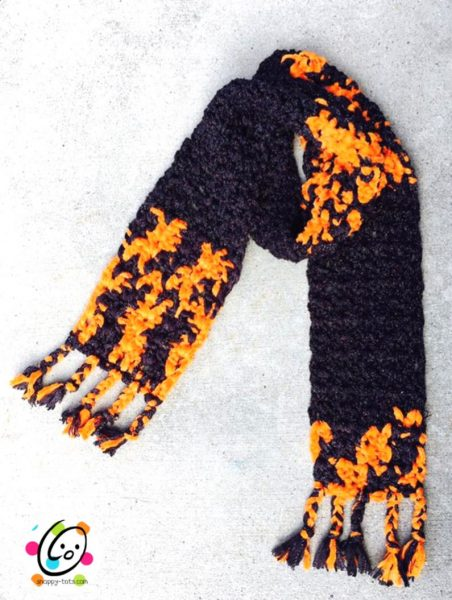 any super scarf free crochet pattern