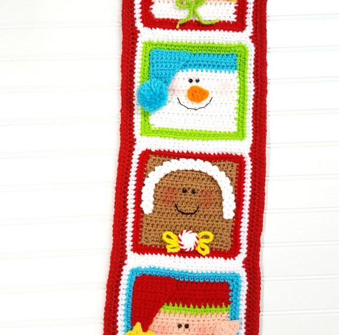 Free Pattern: Holiday Friends Decor