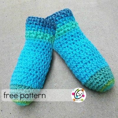 Free Pattern: Best Gift – Slippers!