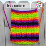 Free Pattern: Bright Stripes Backpack