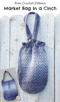 Free Pattern: Market Tote in a Cinch