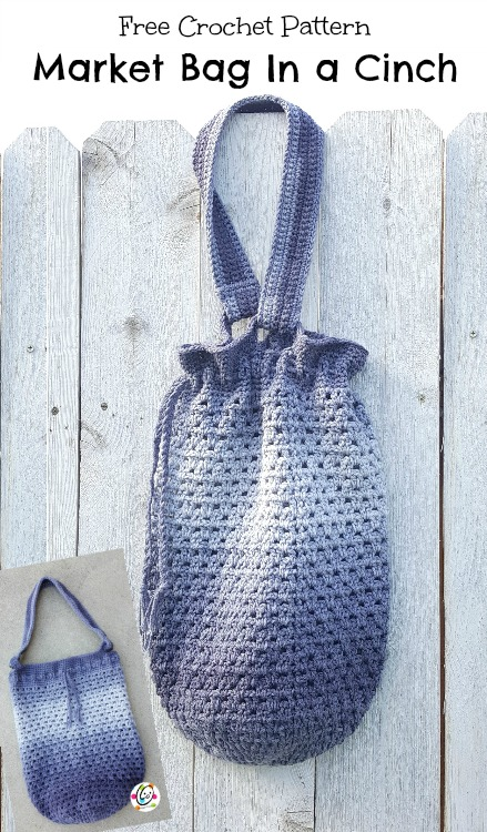 Free Pattern Market Tote In A Cinch Snappy Tots