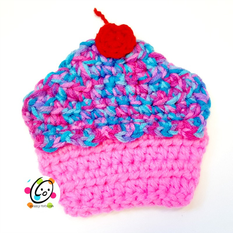 Free Pattern Cupcake Coaster Snappy Tots