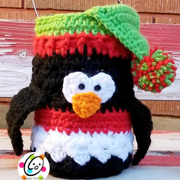 Free Pattern: Penguin Luminary