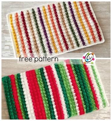 Free Pattern: Jellybean Place Mat