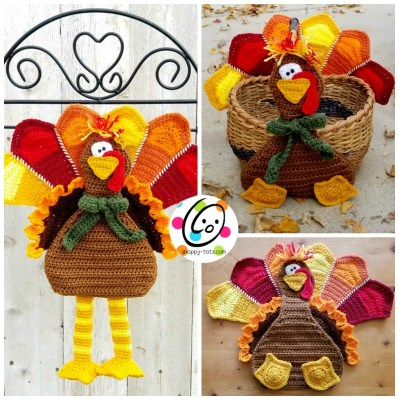 Pattern: Tom Turkey Flag, Placemat, Decor