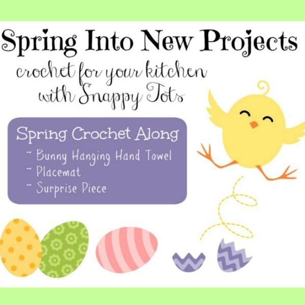 Spring Crochet For the Kitchen