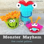 Free Patterns: Monster Mayhem