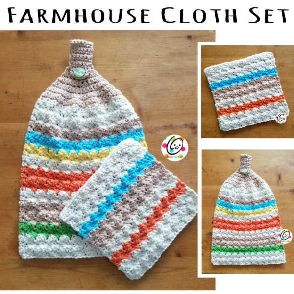 Free Patterns: Farmhouse Cloth Set