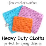 Free Pattern: Heavy Duty Cloths