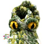 Easy Alligator Slippers Crochet Pattern