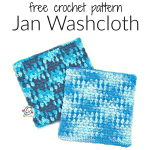Weekly Wash #1: January Washcloth