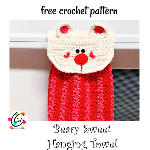 Weekly Wash #6: Beary Sweet Hanging Towel