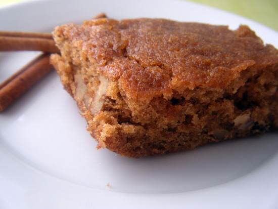 Apple-Pear Blondie Cake Bars Recipe | SnappyGourmet.com