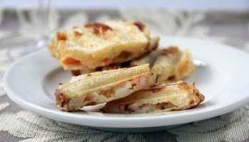 Easy honey walnut popcorn shrimp recipe snappy gourmet mini tarragon lemon shrimp paninis forumfinder Choice Image