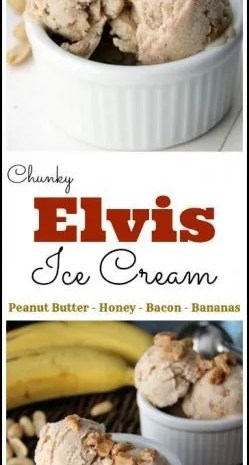 Chunky Elvis Ice Cream