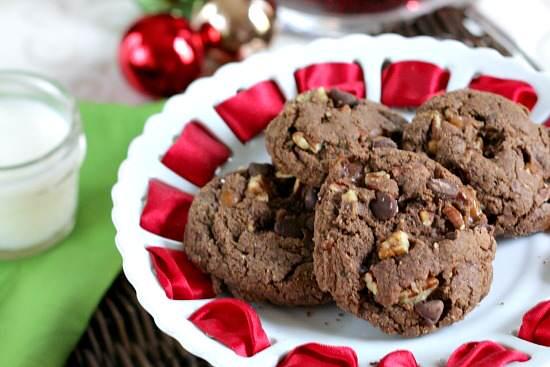 Chocolate Turtle Cookies Recipe | SnappyGourmet.com
