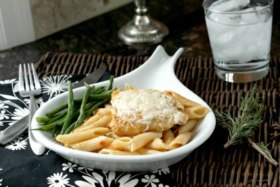 Sundried Tomato Herb Chicken & Pasta Recipe   SnappyGourmet.com