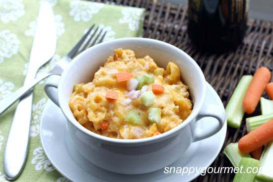 buffalo chicken macaroni and cheese 5a wm