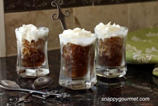 Whipped Root Beer Granita Shots Recipe | SnappyGourmet.com