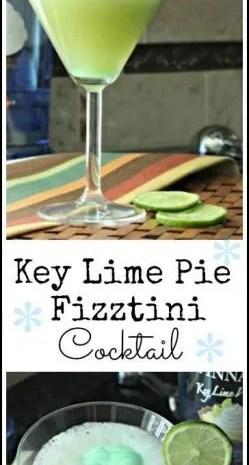 Key Lime Pie Fizztini