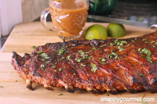 Tropical Pineapple & Honey BBQ Ribs Recipe   SnappyGourmet.com