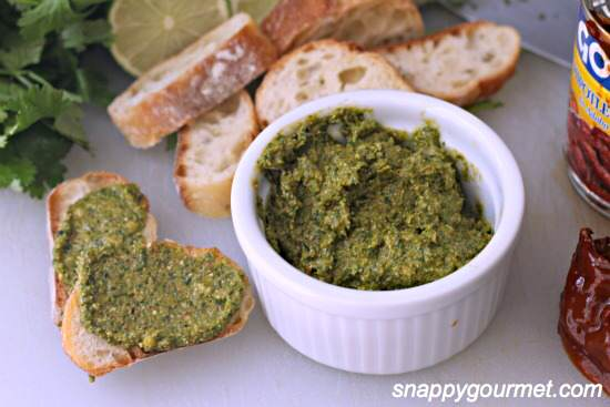 Spicy Cilantro Pesto Recipe | SnappyGourmet.com