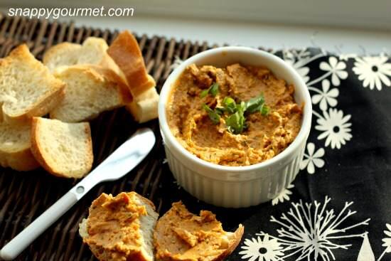 Sundried Tomato & Basil Spread Recipe   SnappyGourmet.com