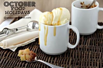 Food Holidays & Recipes  (October) | SnappyGourmet.com