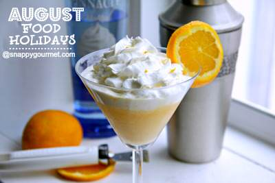 Food Holidays & Recipes (August)   SnappyGourmet.com
