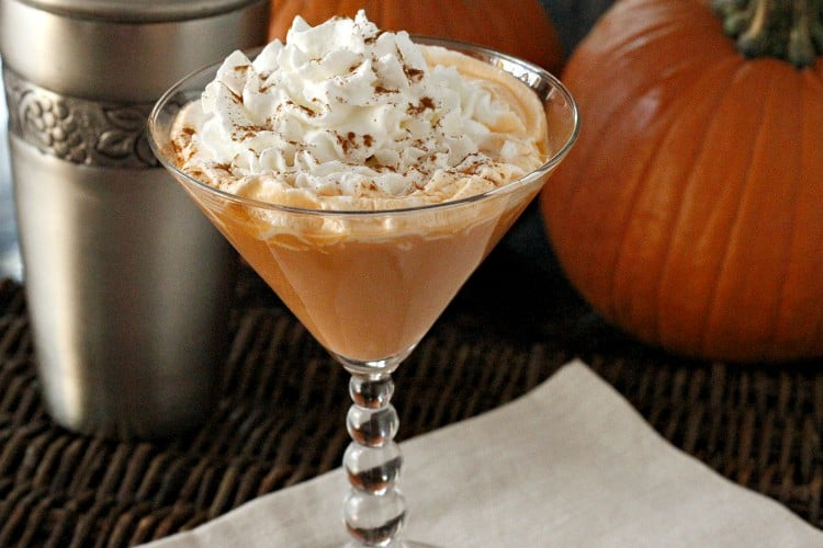 Caramel Pumpkin Spice Martini So Simple Snappy Gourmet