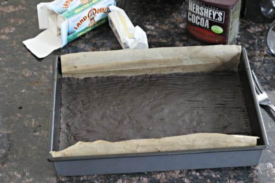 Dark Chocolate Hazelnut Pie Bars Recipe   SnappyGourmet.com