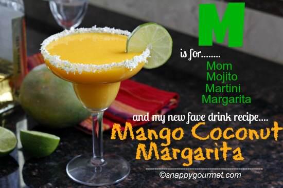 Mango Coconut Margarita