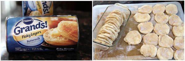 Easy Pull Apart Monkey Bread Recipe (process) | snappygourmet.com