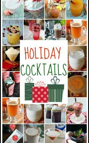 Holiday and Christmas Cocktails | snappygourmet.com