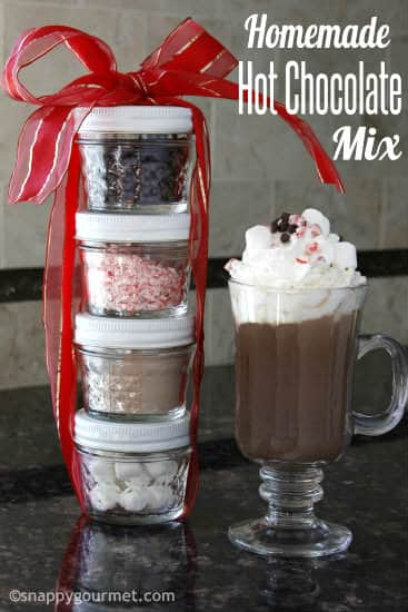 Hot chocolate recipe for christmas gifts