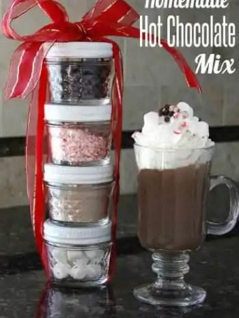 Homemade Hot Chocolate Mix (Original, Mexican, & Peppermint)