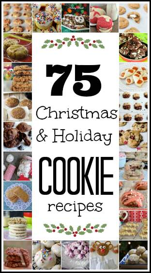 75 Favorite Christmas Cookie Recipes | snappygourmet.com