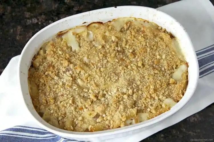 Chicken Cordon Bleu Pasta Casserole Recipe - easy pasta casserole