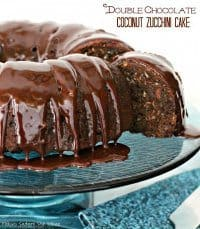 70+ Best Zucchini Recipes (Double Chocolate Coconut Zucchini Cake Recipe) | SnappyGourmet.com