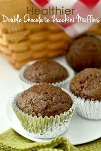 70+ Best Zucchini Recipes (Healthier Double chocolate Zucchini Muffins Recipe)   SnappyGourmet.com