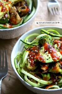 70+ Best Zucchini Recipes (Korean BBQ Zoodle Stri Fry Recipe) | SnappyGourmet.com