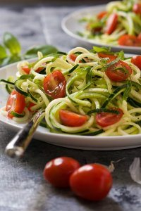 70+ Best Zucchini Recipes (No Cook Zucchini Caprese Salad Recipe) | SnappyGourmet.com