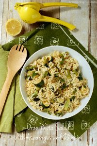 70+ Best Zucchini Recipes (Orzo Pasta Salad Recipe)   SnappyGourmet.com