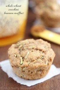 70+ Best Zucchini Recipes (Whole Wheat Zucchini Banana Muffins Recipe) | SnappyGourmet.com