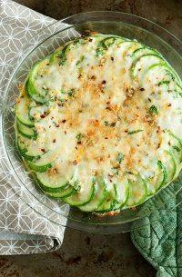 70+ Best Zucchini Recipes (Zucchini Au Gratin Casserole Recipe) | SnappyGourmet.com