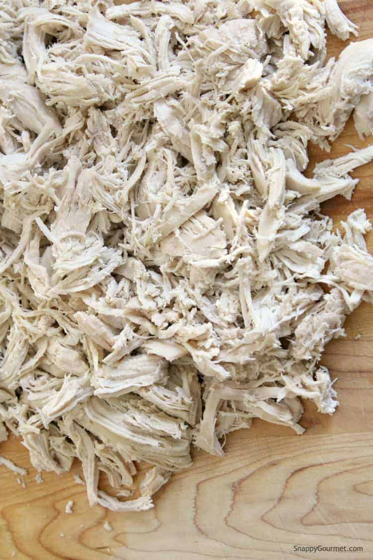How to make shredded chicken - learn how you make shredded chicken with this quick stove top method